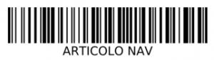 Esempio di semplice etichetta.